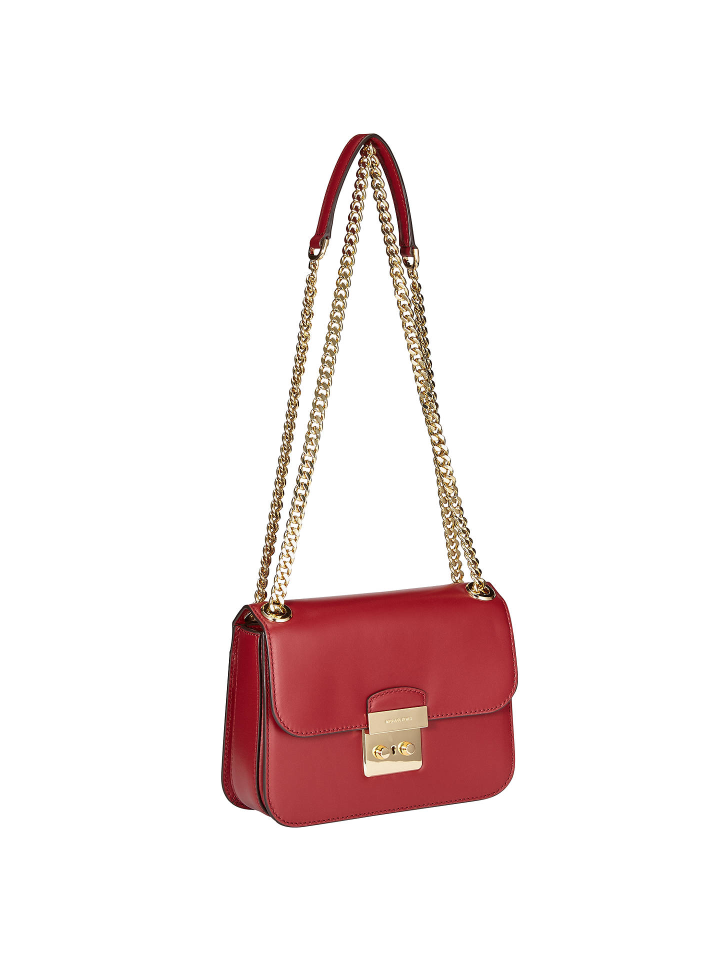 7eb86c4a2f04 ... where to buy buymichael michael kors sloan editor medium leather chain  shoulder bag cherry online at
