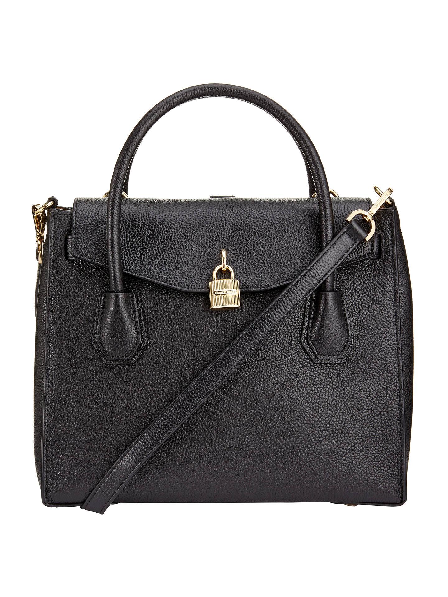 9de1f39c0865 MICHAEL Michael Kors Mercer Large Leather Shoulder Bag at John Lewis ...