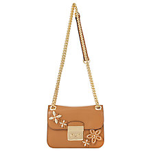 Buy MICHAEL Michael Kors Flowers Sloan Editor Leather Chain Handle Shoulder Bag Online at johnlewis.com