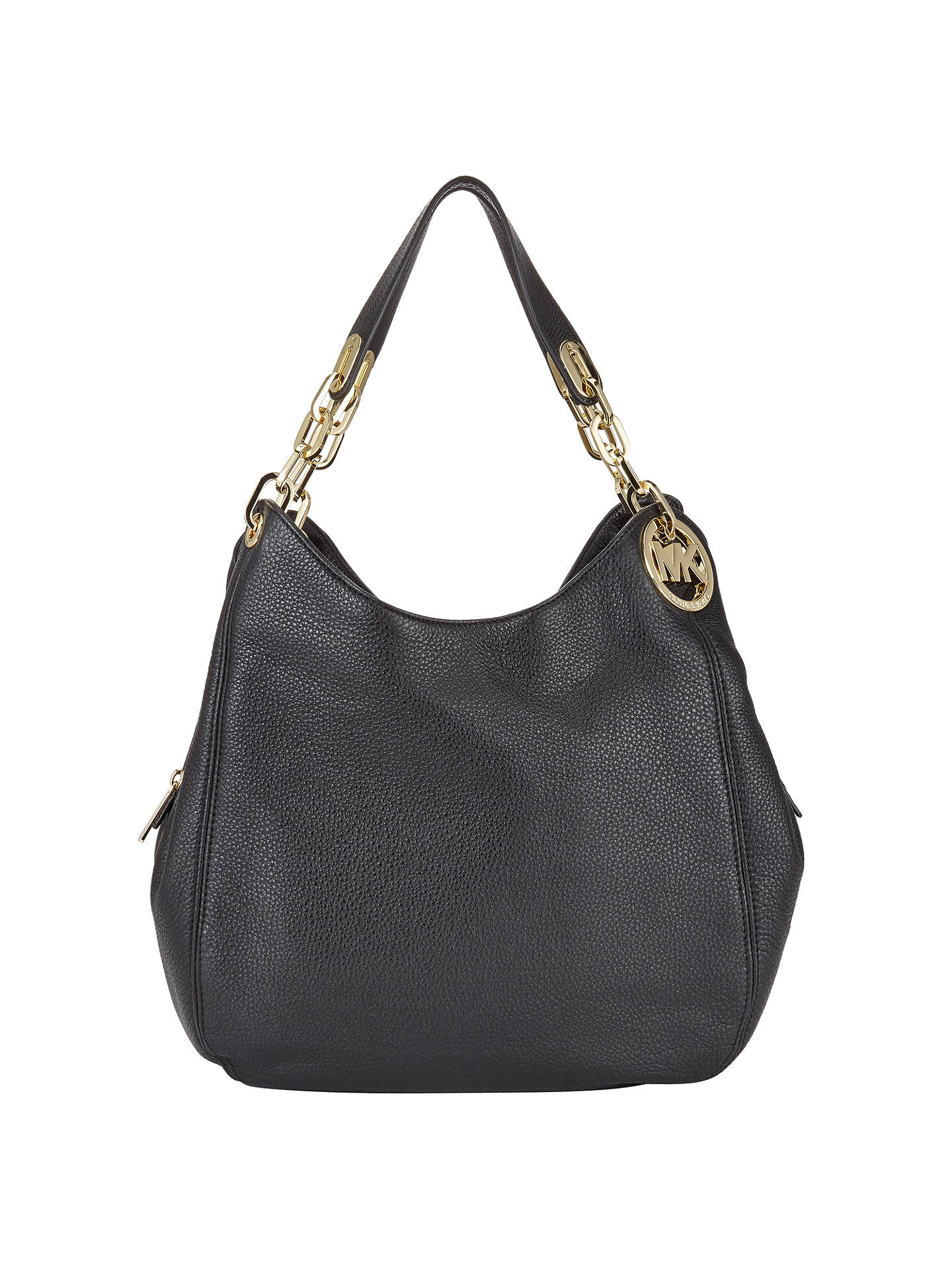 fbf109e9f029 MICHAEL Michael Kors Fulton Large Leather Shoulder Tote Bag at John ...