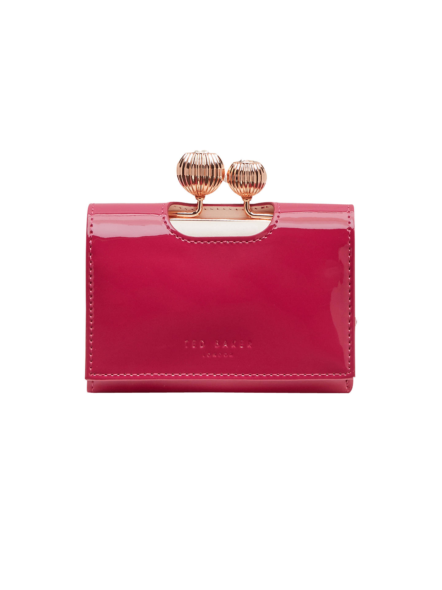 b981743b72ab11 Ted Baker Julissa Small Patent Leather Purse at John Lewis   Partners
