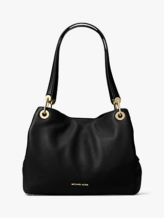 4e6905d47934 MICHAEL Michael Kors Raven Large Leather Shoulder Bag