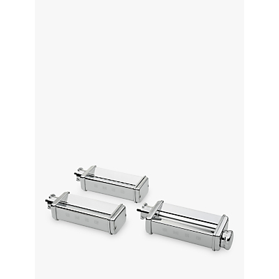 Smeg SMPC01 Pasta Roller and Cutter Accessories, Stainless Steel