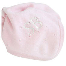 Buy My 1st Years Baby Personalised Cashmere Blanket Online at johnlewis.com