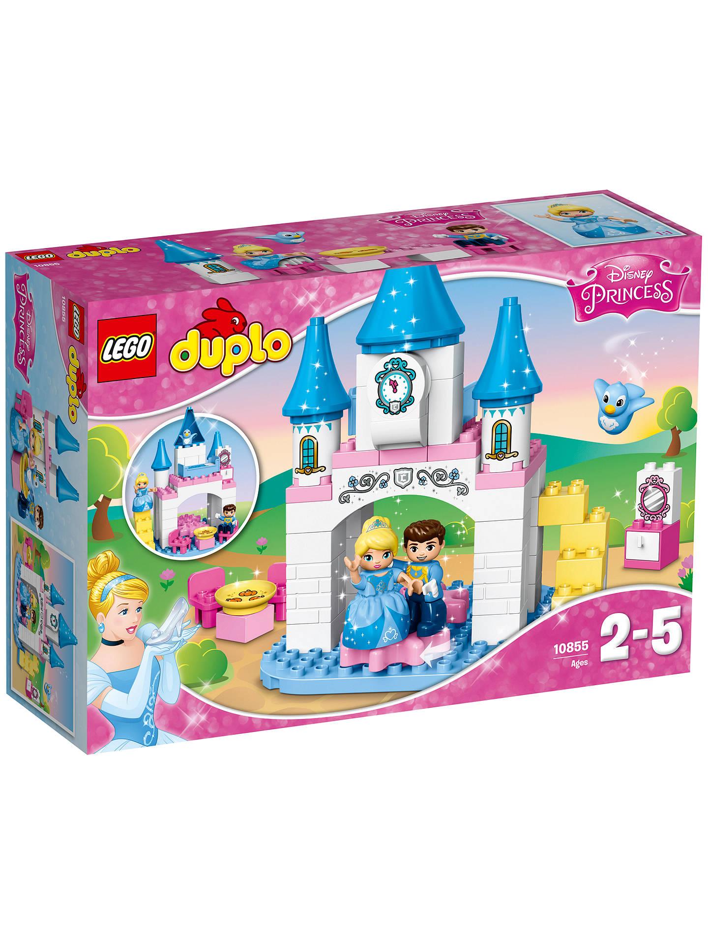 LEGO DUPLO 10855 Disney Princess Cinderella Castle at John