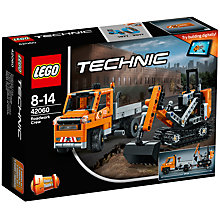 Buy LEGO Technic 42060 Roadwork Crew Online at johnlewis.com