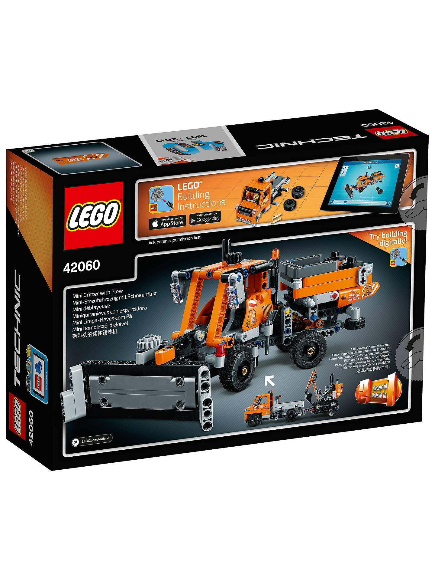 Lego Technic 42060 Roadwork Crew At John Lewis Partners