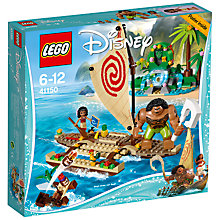 Buy LEGO Disney 41150 Moana's Boat Online at johnlewis.com