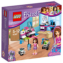 Buy LEGO Friends 41307 Olivia's Creative Lab Online at johnlewis.com