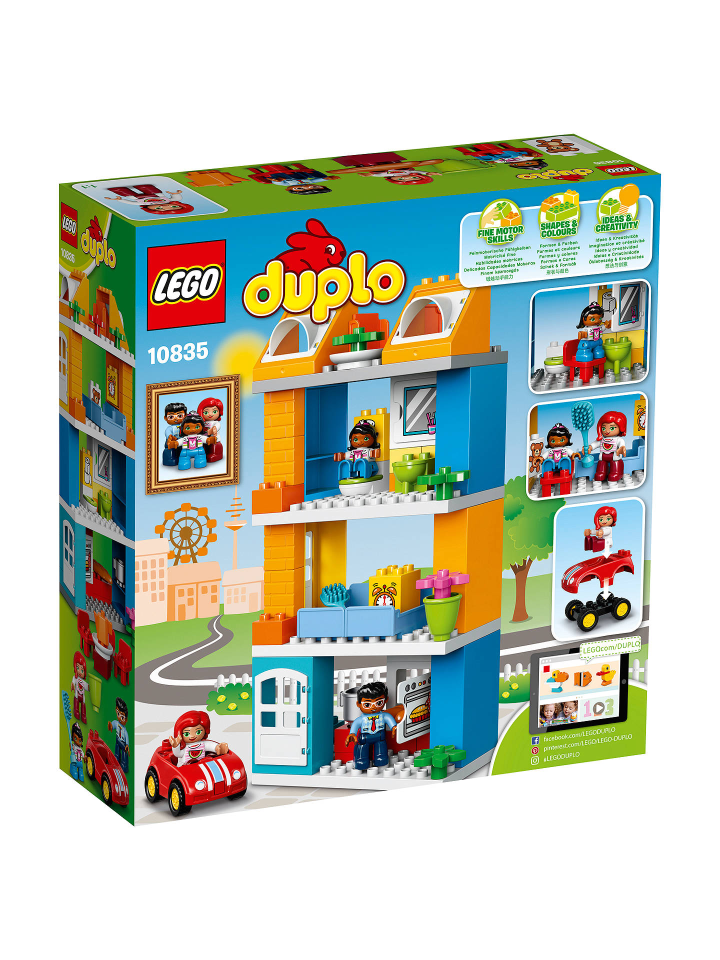 Lego Duplo 10835 Family House At John Lewis Partners