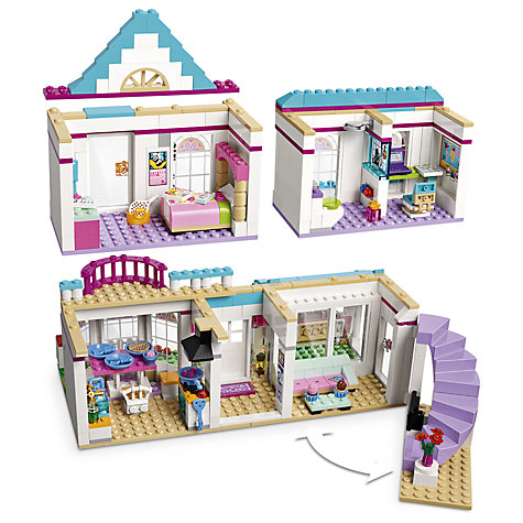 buy lego friends 41314 stephanie 39 s house john lewis. Black Bedroom Furniture Sets. Home Design Ideas