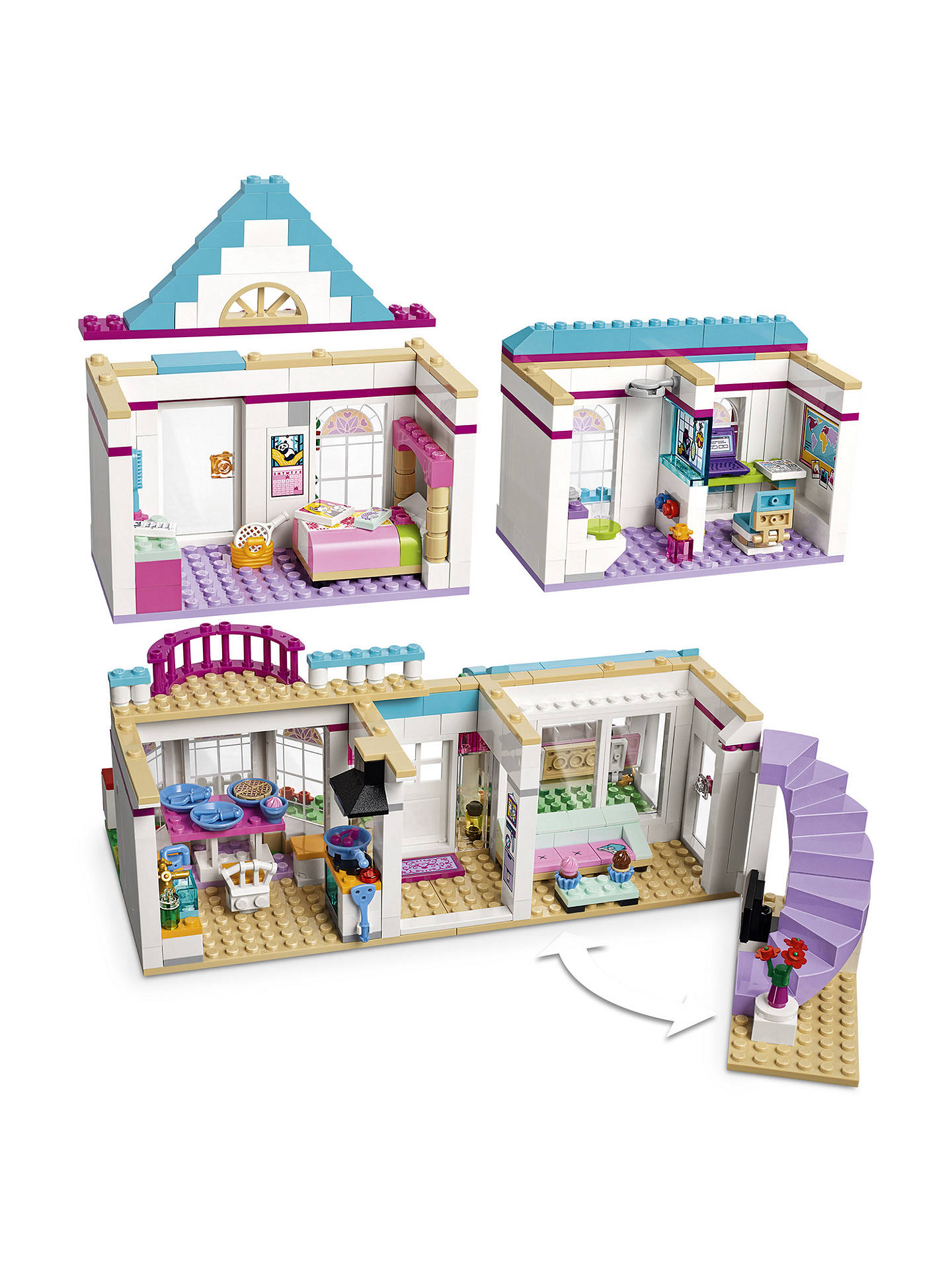 Lego Friends 41314 Stephanies House At John Lewis Partners