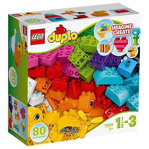 buy lego duplo 10848 my first bricks john lewis. Black Bedroom Furniture Sets. Home Design Ideas