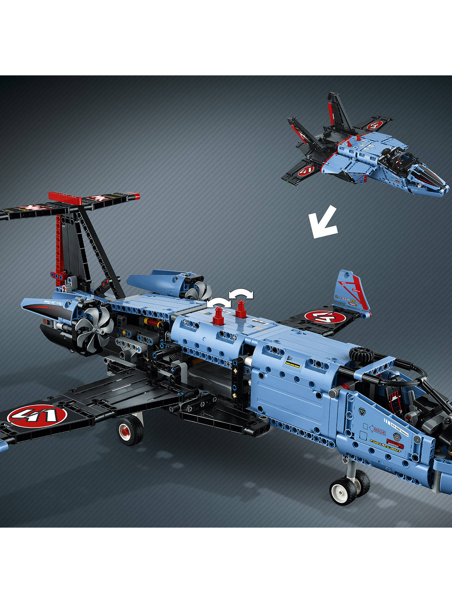 lego technic 42066 air race jet at john lewis partners. Black Bedroom Furniture Sets. Home Design Ideas