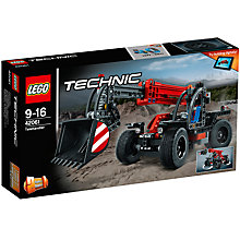 Buy LEGO Technic 42061 Telehandler Online at johnlewis.com