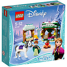 Buy LEGO Disney 41147 Anna's Snow Adventure Online at johnlewis.com