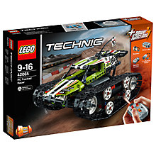 Buy LEGO Technic 42065 Remote Control Tracked Racer Online at johnlewis.com