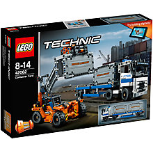 Buy LEGO Technic 42062 Container Yard Online at johnlewis.com