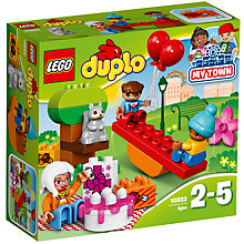 Buy LEGO DUPLO 10832 Birthday Picnic Online at johnlewis.com