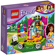 Buy LEGO Friends 41309 Andrea's Musical Duet Online at johnlewis.com