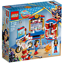 Buy LEGO DC Super Hero Girls 41235 Wonder Woman Dorm Online at johnlewis.com