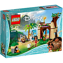 Buy LEGO Disney 41149 Moana's Island Adventure Online at johnlewis.com