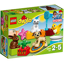 Buy LEGO DUPLO 10838 Family Pets Online at johnlewis.com