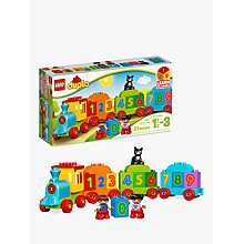 Buy LEGO DUPLO 10847 Number Train Online at johnlewis.com