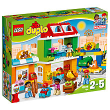 Buy LEGO DUPLO 10836 Town Square Online at johnlewis.com