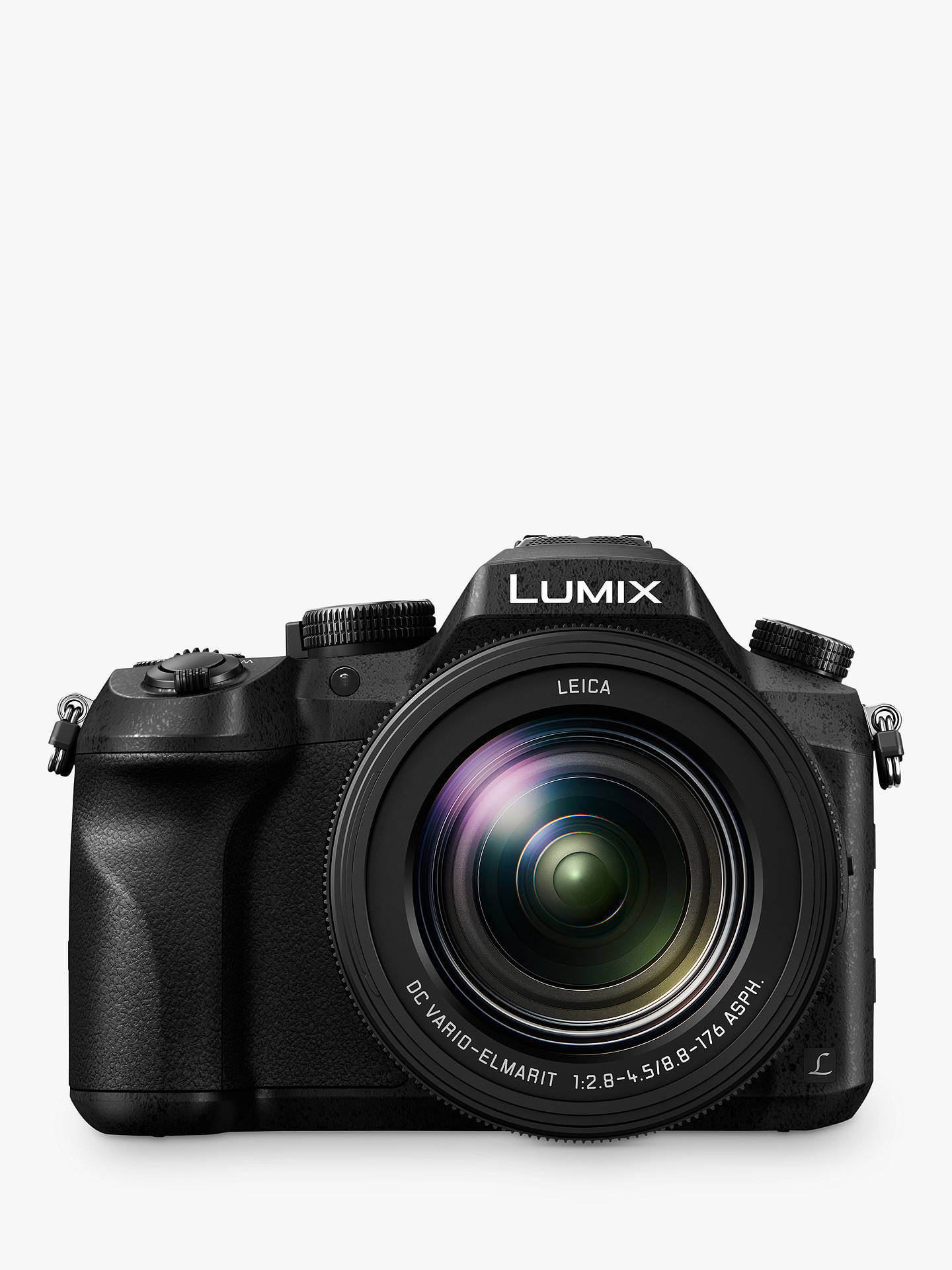 "BuyPanasonic Lumix DMC-FZ2000 Bridge Camera, 20.1MP, 4K Ultra HD, 20x Optical Zoom, 3"" Vari-angle Touchscreen Online at johnlewis.com"
