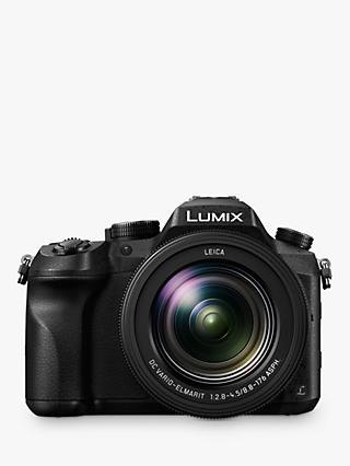 "Panasonic Lumix DMC-FZ2000 Bridge Camera, 20.1MP, 4K Ultra HD, 20x Optical Zoom, 3"" Vari-angle Touchscreen"
