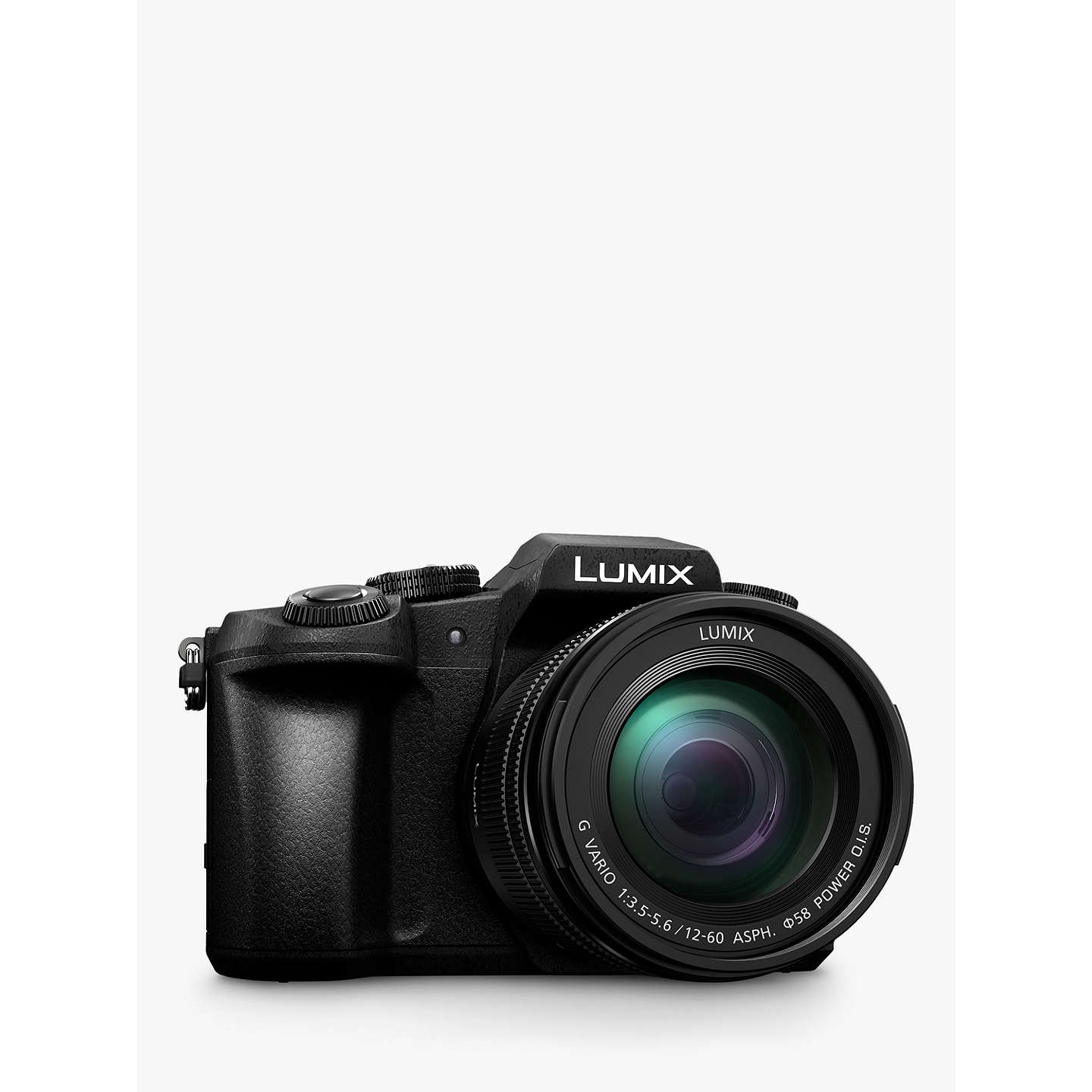 "BuyPanasonic Lumix DMC-G80M Compact System Camera with 12-60mm Lens, 4K Ultra HD, 16MP, Wi-Fi, OLED Live Viewfinder, 3"" LCD Vari-Angle Touch Screen, Black Online at johnlewis.com"