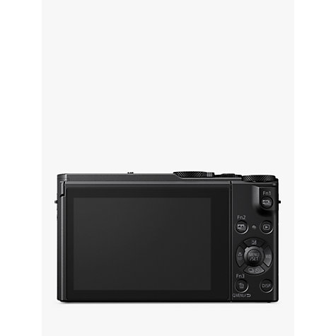 Buy Panasonic Lumix DMC-LX15 Camera, 4K Ultra HD, 20.1MP, 3x Optical Zoom, 3 LCD Tiltable Touch Screen, Black Online at johnlewis.com