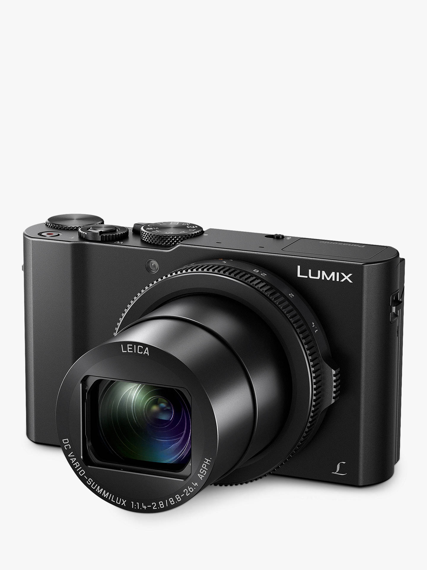 panasonic lumix dmc-lx15 camera, 4k ultra hd, 20.1mp, 3x optical