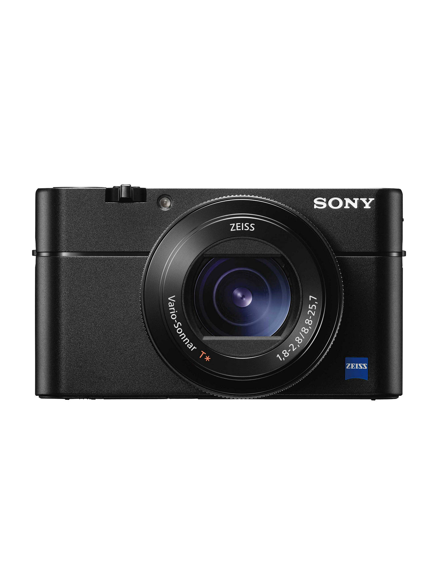 "BuySony Cyber-shot DSC-RX100 V Camera, 4K, 20.1MP, 2.9x Optical Zoom, Wi-Fi, NFC, OLED EVF, 3"" Tiltable Screen Online at johnlewis.com"