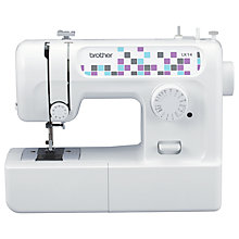 Buy Brother LK14 Sewing Machine, White Online at johnlewis.com