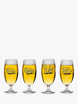Sagaform Beer Glass, Set of 4