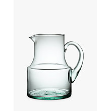 Buy Croft Collection Recycled Glass Jug, 1.5L Online at johnlewis.com