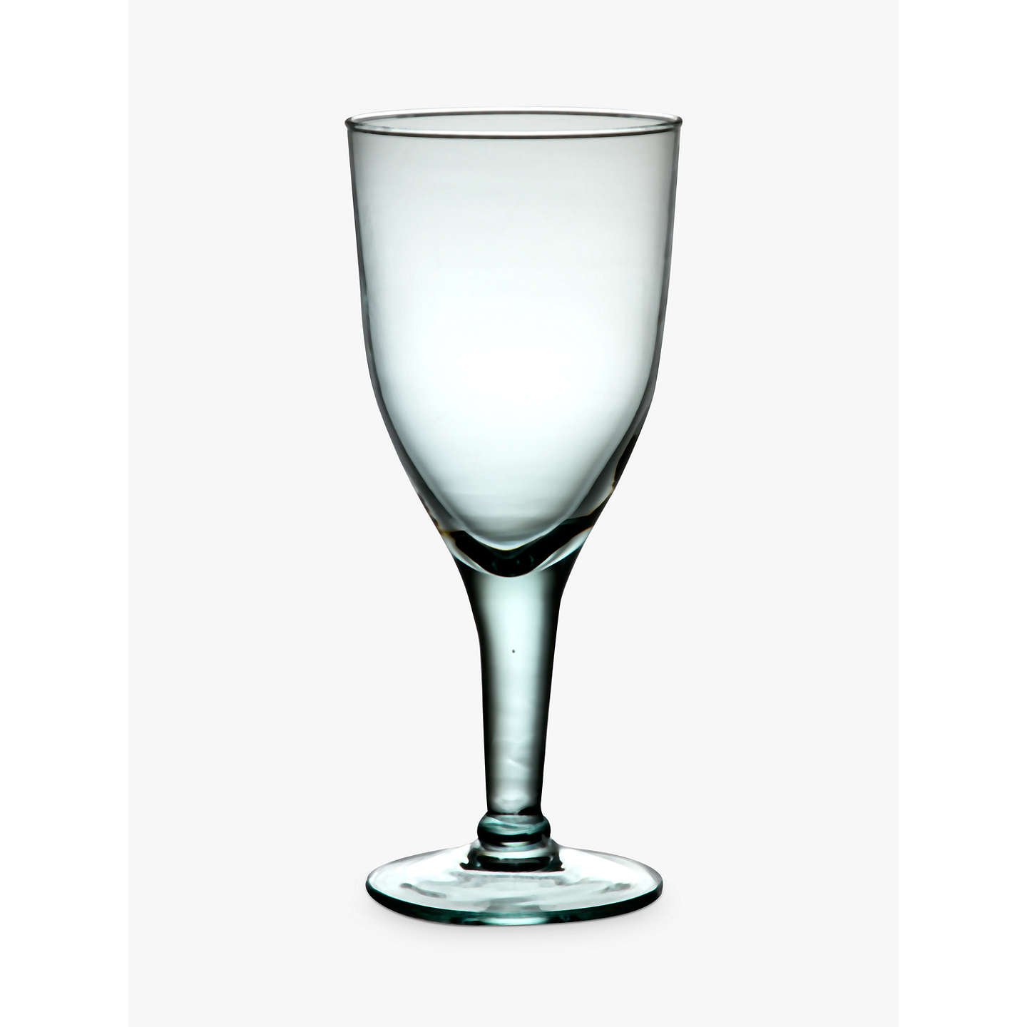 john lewis recycled wine glass 420ml clear at john lewis. Black Bedroom Furniture Sets. Home Design Ideas