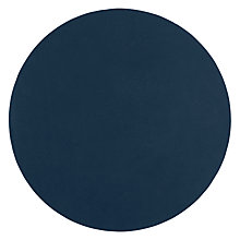 Buy Design Project by John Lewis No.106 Leather Placemat, Blue Online at johnlewis.com