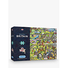 Buy Gibsons Beautiful Britain UK Map Jigsaw Puzzle, 1000 pieces Online at johnlewis.com