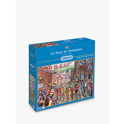 Image of Gibsons Le Tour De Yorkshire Jigsaw Puzzle, 1000 pieces