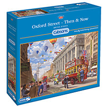 Buy Gibsons Oxford Street Then & Now Jigsaw Puzzle, 1000 pieces Online at johnlewis.com
