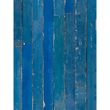Buy NLXL Blue Scrapwood Wallpaper, Blue, PHM-36 Online at johnlewis.com