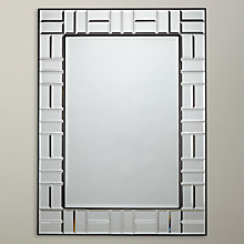 Buy John Lewis Deco Blocks Mirror, Clear Online at johnlewis.com