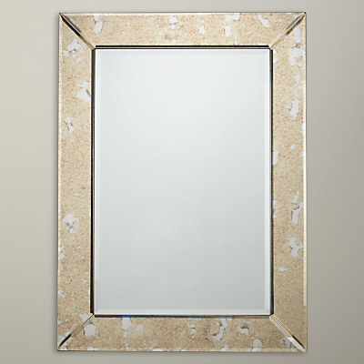 John Lewis Antique Glass Mirror, Metallic