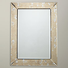 Buy John Lewis Antique Glass Mirror, Metallic Online at johnlewis.com