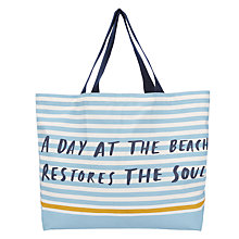 Buy John Lewis A Day at the Beach Extra Large Tote Bag Online at johnlewis.com