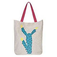 Buy John Lewis Cactus Beach Bag Online at johnlewis.com