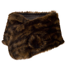 Buy Chesca Large Faux Fur Wrap Online at johnlewis.com